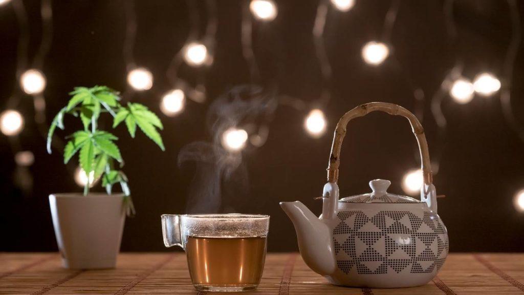 Le thé au CBD